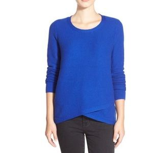 Madewell Blue 'feature' Pullover Sweater